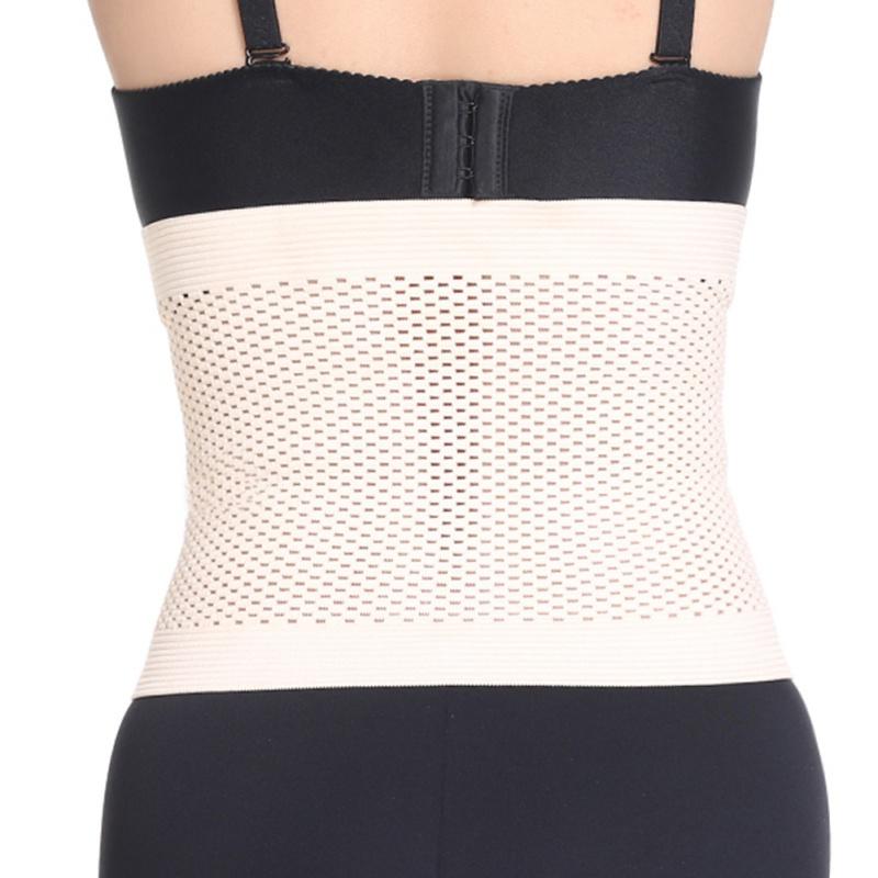 Sexy Summer Hollow Out Waist Shaper Ultrathin Waist Girdle Cover Belly Belt Trainer Corset
