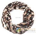 Women Infinity Scarf cotton animal leopard print Ring Round Loop FREE SHIPPING