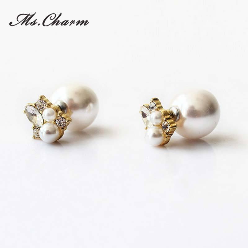 Luxury Woman Wearing Diamond Earrings Stock Photos  Image 31870493