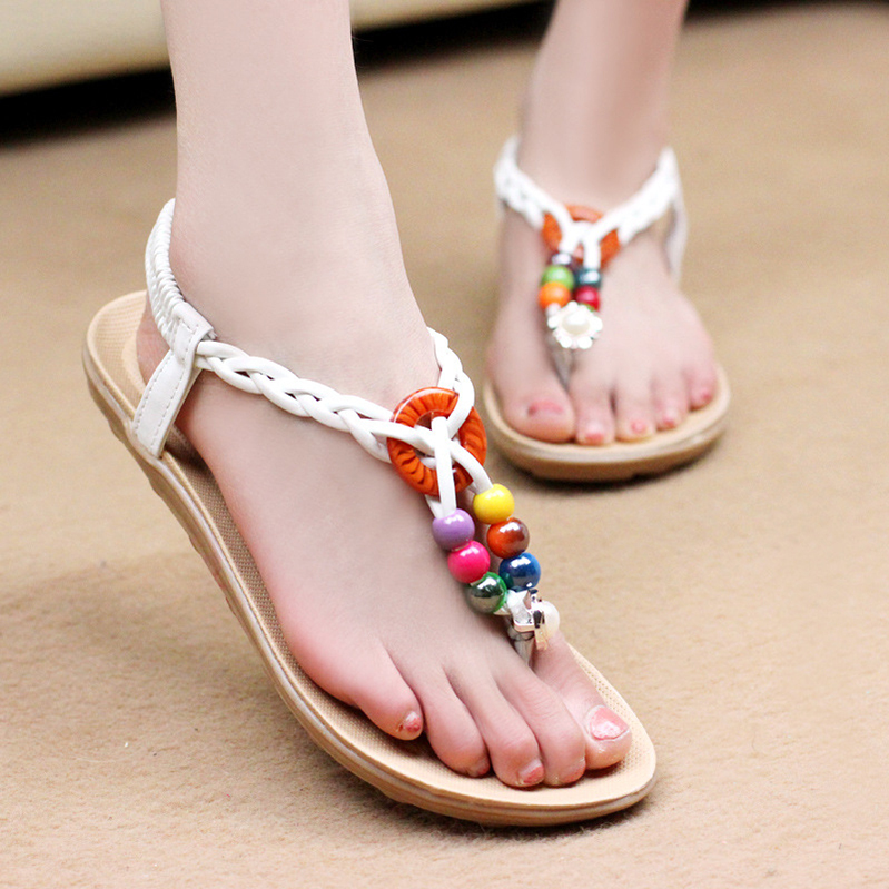 Buy Women Sandals 2015 New Summer Style Shoes Flat Fashion Sandal Woman Casual