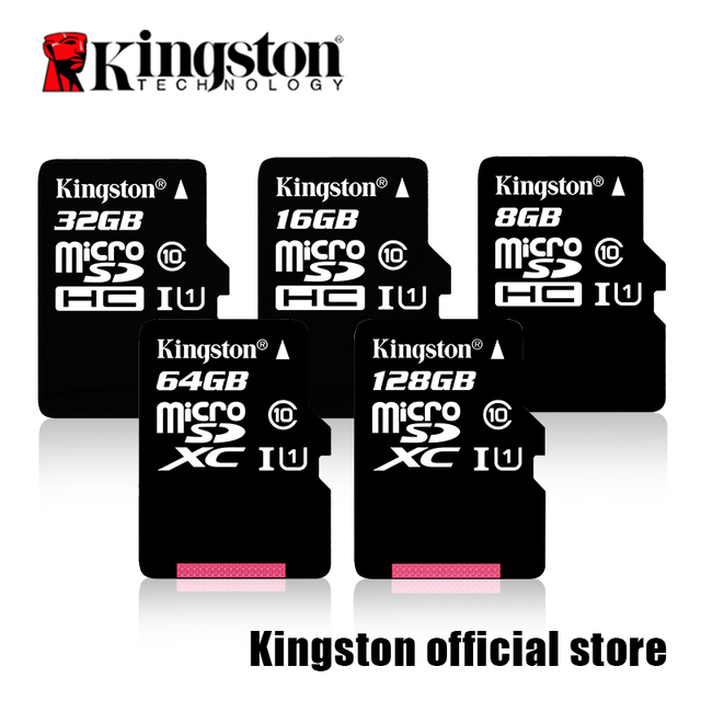 Kingston Digital 16GB 32GB 64GB 128GB microSDXC Class 10 UHS-I 80MB/s Read Card(SDC10G2/16GB/32GB/64GB/128G )