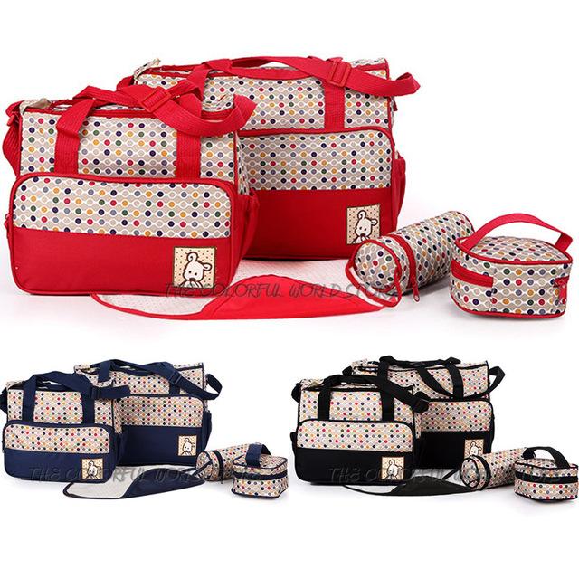 5 шт./компл. мода многофункциональный сумка тотализатор ребенка lot-картера мешки ...