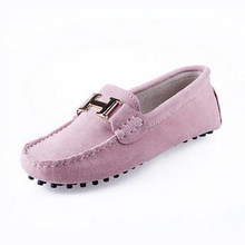 Spring Summer Top brand women Moccasins Shoes Genuine Leather women Flat Shoes Casual Loafers Slip On Driving shoes(China (Mainland))