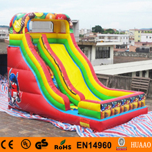 Free Shipping Commercial Giant Robot inflatable slide with free CE/UL air blower(China (Mainland))