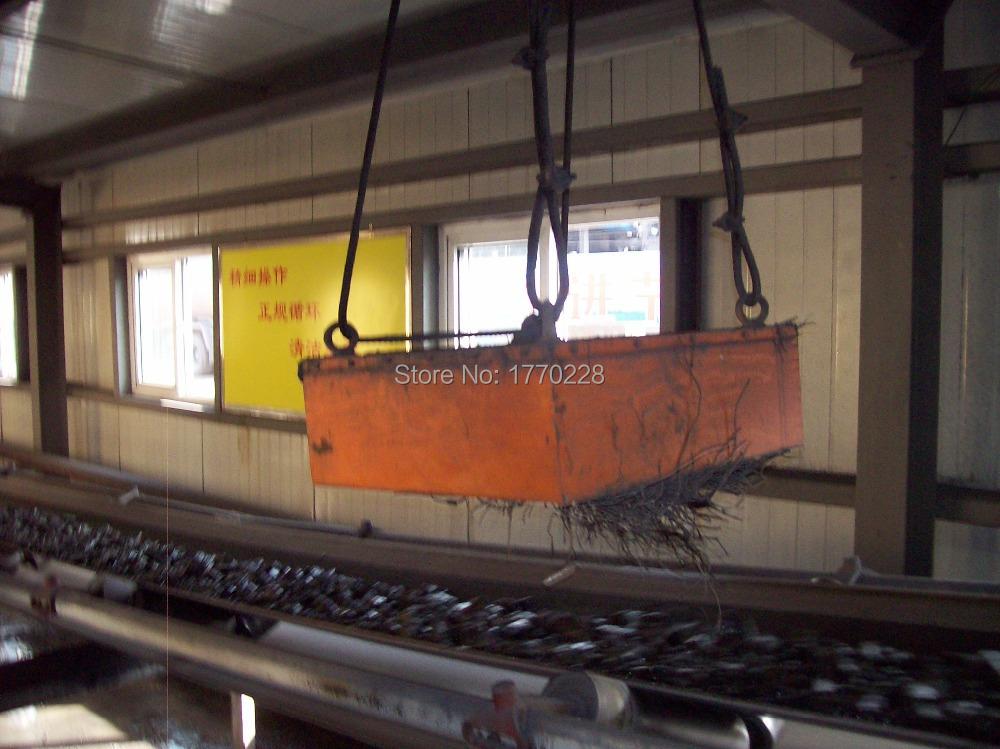 RCYB series permanent magnetic separator for conveyor belt 650mm belt width(China (Mainland))