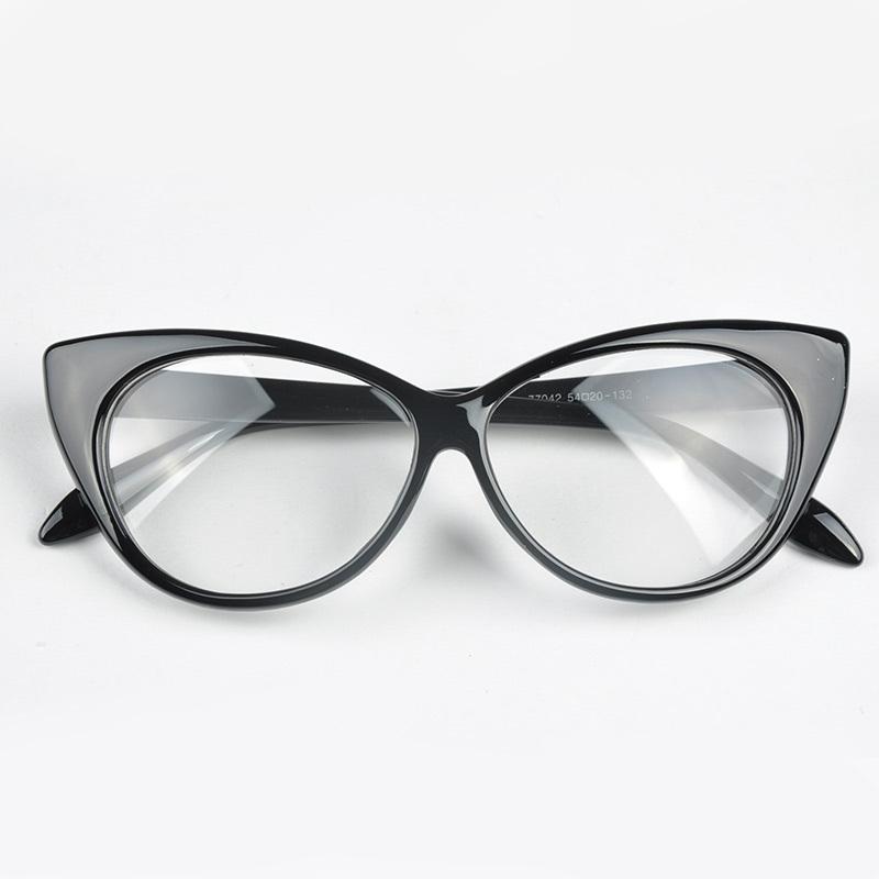 Glasses Frame Fashion 2016 : Moonar 2016 Vintage lovely Cat Eye Women Glass Frame ...