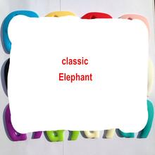 HOT! 10pcs/lot Elephant Silicone Pendant or Teether - Mix colors Silicone Nursing Necklace, silicone elephant Pendant(China (Mainland))