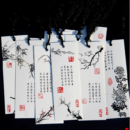 Bookmark classical chinese style gift 12 set