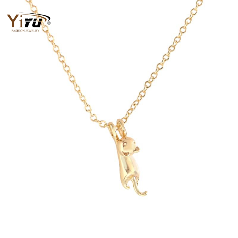 10pcs 2016 New Fashion Jewelry Pendant Necklace Delicate Animal Cat Statement Necklace for Women Engagement Gifts N193(China (Mainland))