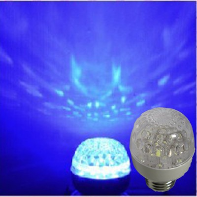 New Full Colorful E27 3w RGB Auto Rotating LED Bulb Stage Light Party Dance DJ Disco For Home Bar KTV Decoration spotlight Lamps