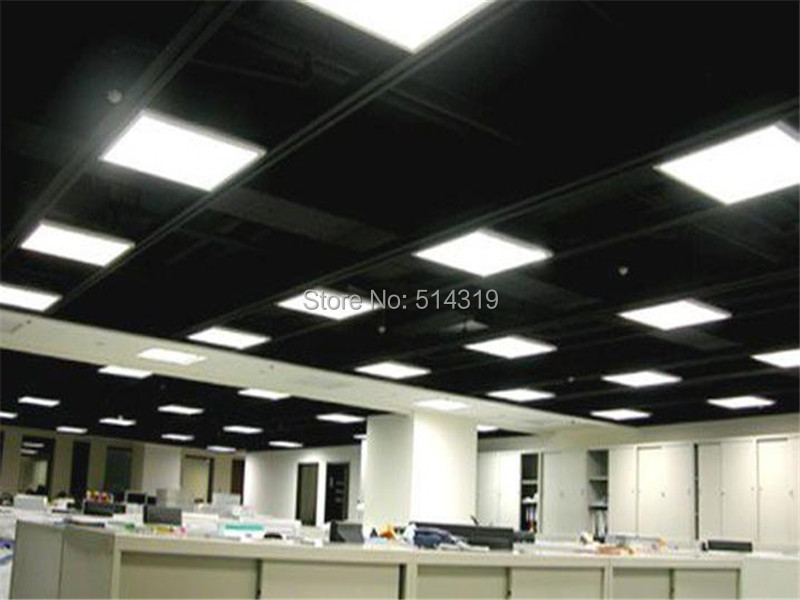 Фотография super thin panel led 600x600 36W 600*600*9mm ceiling light Downy and even to shine lighting-in Holiday