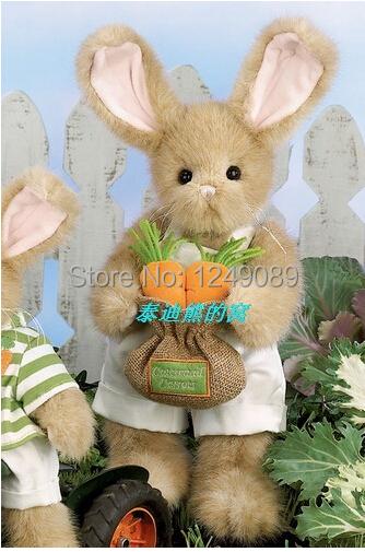 14 inch USA  Bearington  teddy rabbit plush toys for kids  Plush nonrigid Teddy rabbit chirsmas gift <br><br>Aliexpress