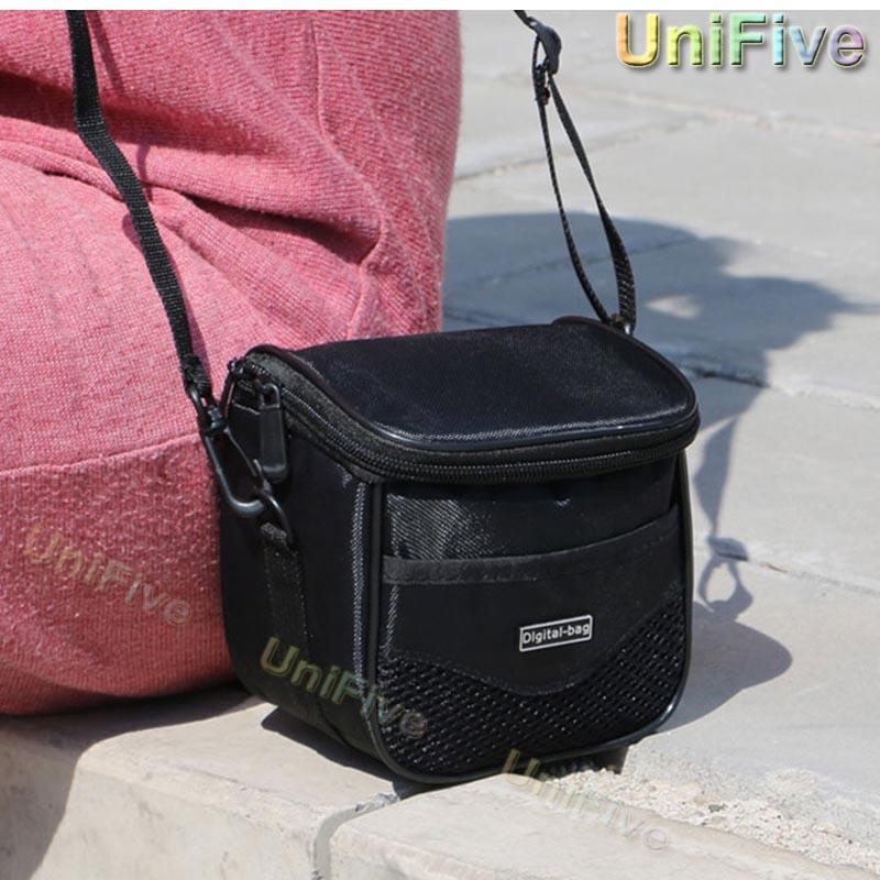 Digital Camera Bag For Sony Canon Nikon Gopro Panasonic Kodak Fuji Olympus H400 H300 P530 SX540 SX420 SX720 a6000 Camera Case(China (Mainland))