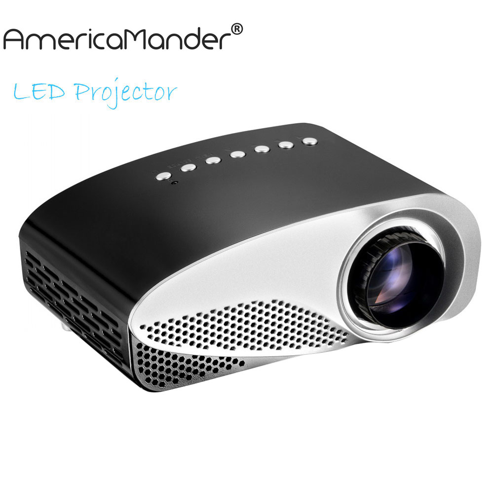 3D LCD Mini Projector Multimedia LED Projector Home Education Cinema Video Support AV TV VGA HDMI USB TF Card(China (Mainland))