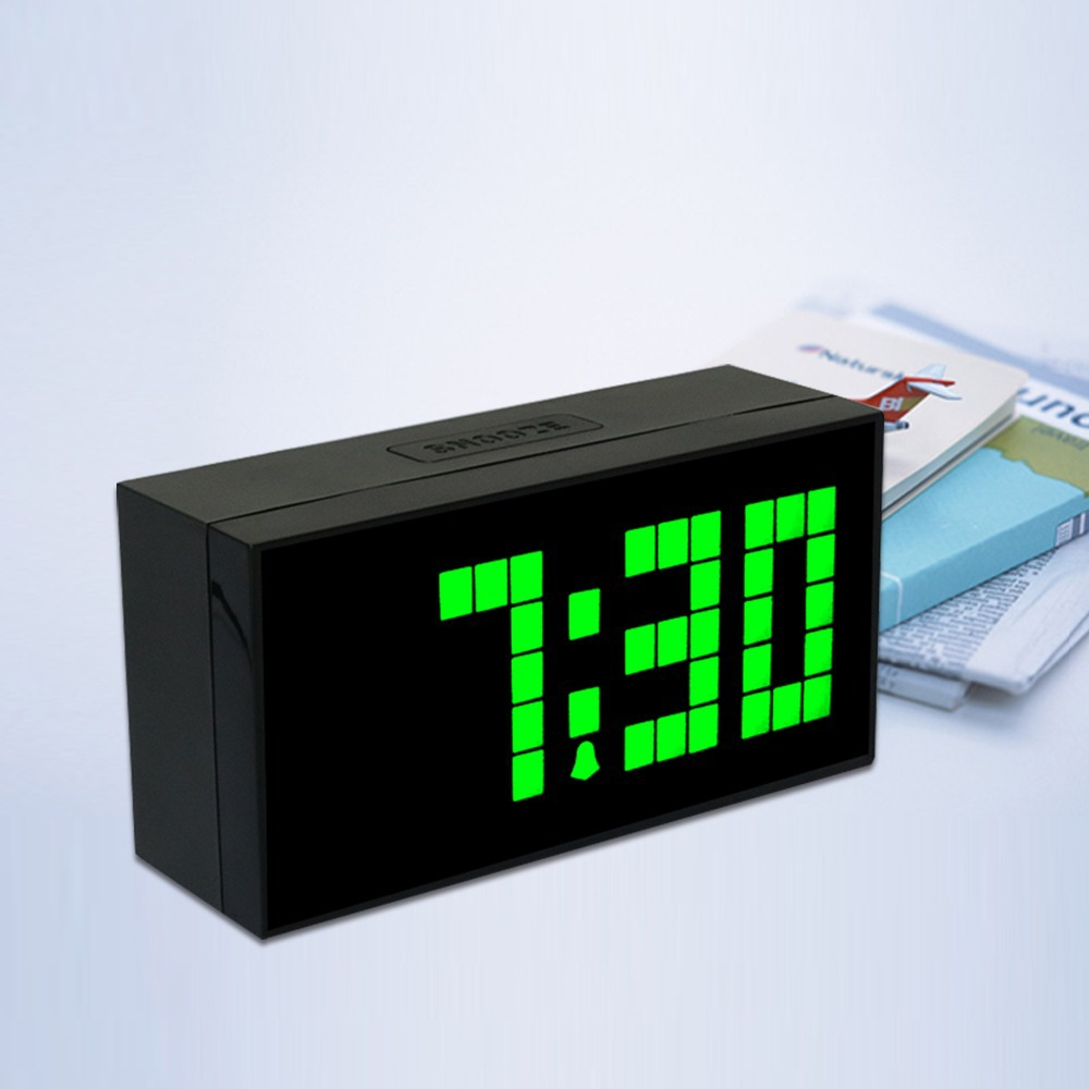 CH KOSDA Countdown Table Digital led Snooze Thermometer Date Alarm Clock Unique Wall Clocks Digital LED Bedroom Kids Nice Clock(China (Mainland))