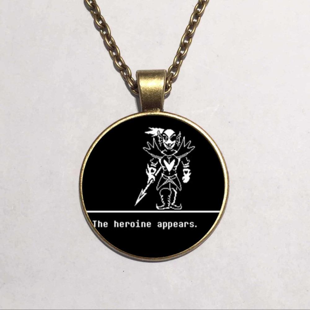 undertale sans 2 gaming handmade fashion necklace