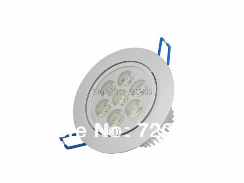 1 7W LED Ceiling Downlight 7x1w Spot Recessed Lamp Pure/Warm White 85-265v - Bonjourled store