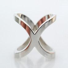 Jackstraw rame bottone in metallo di alta qualità croce arco clip di sciarpa a forma Variabile compagno sciarpe fibbia quadrata scialli gioielli(China)