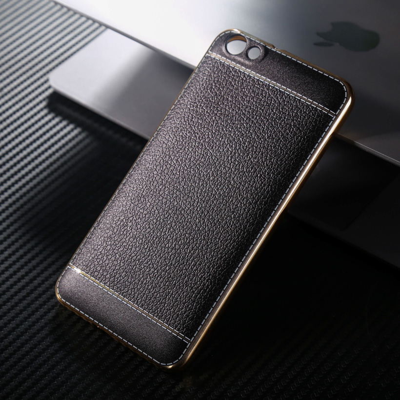 Cell Phone For Huawei Honor 4X Honor4X Glory Play 4X 5.5 inch Spedu Litchi grain luxury Plating TPU silicone mobile phone case(China (Mainland))