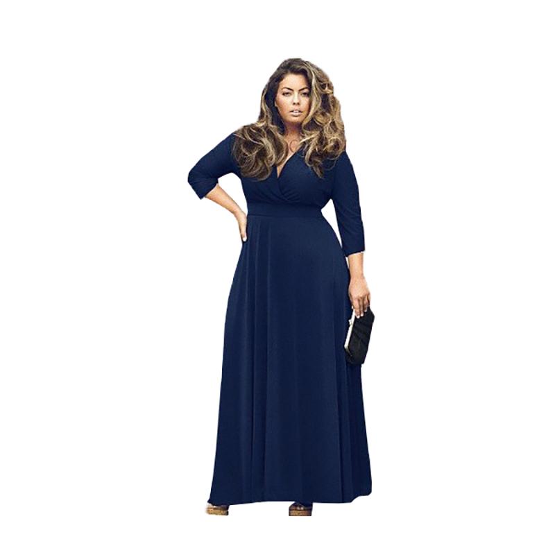 Knitting Dresses Women : Women s vestidos winter maxi dress sexy v