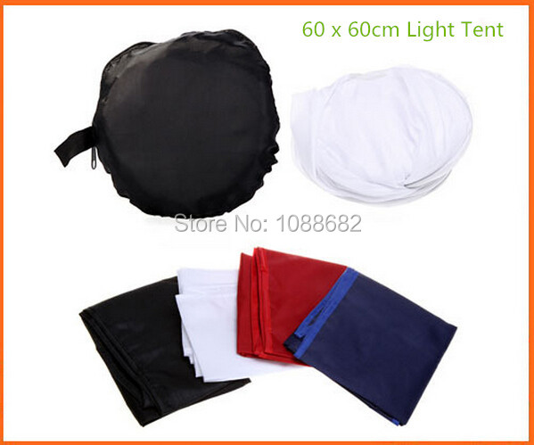 PRO Flash Diffuser 60x60cm Photo Studio Shooting Tent Light Softbox Cube Box Kit + 4 Backdrops for Photo Studio Accessories<br><br>Aliexpress