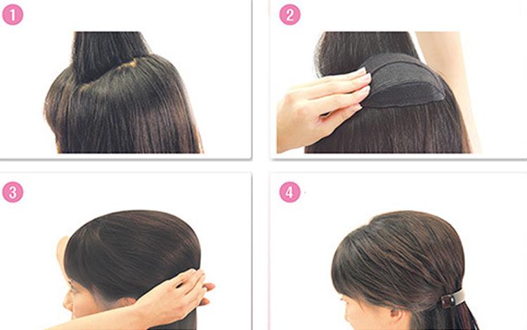 Подкладка для объема волос своими руками