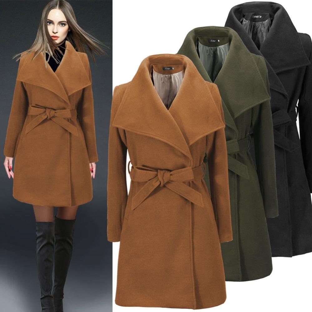 abrigos largos de senora