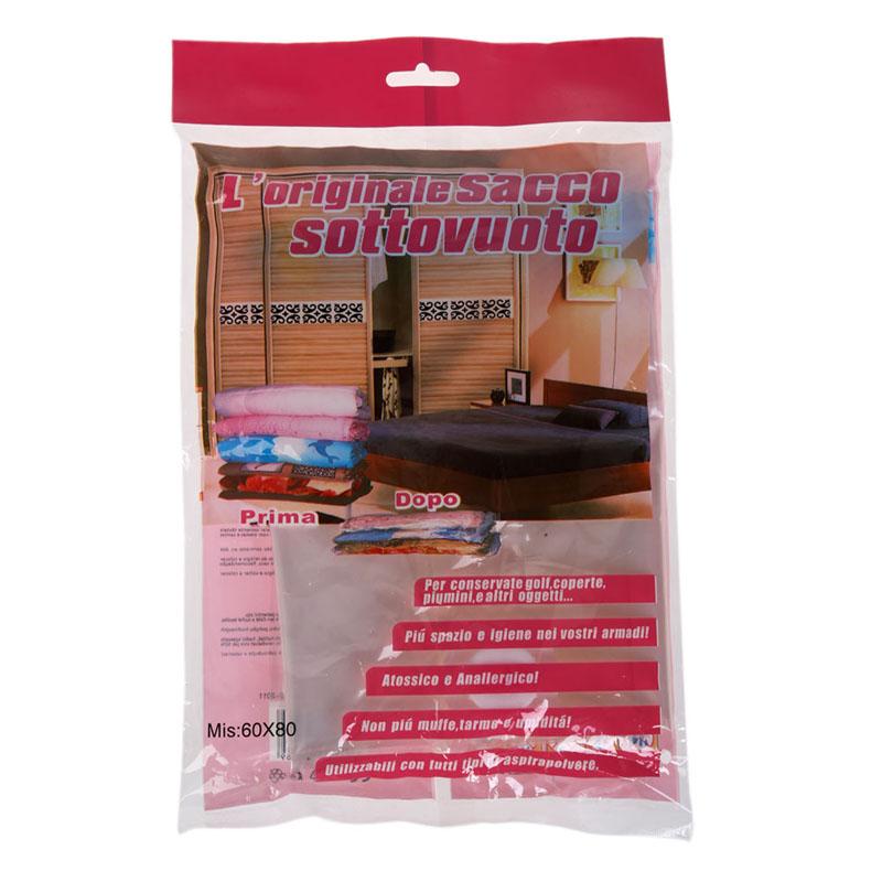 80*60cm Brand New Super Larger Bag Space Saver Saving Storage Bags Vacuum Seal Compressed Organizer Package Bag Free Shipping(China (Mainland))