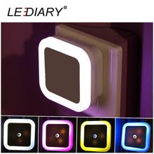 LED Halo-ring Square Night Light LED Lighting Sensor Control Baby Bedside Light US Plug for Decoration/Gift(China (Mainland))