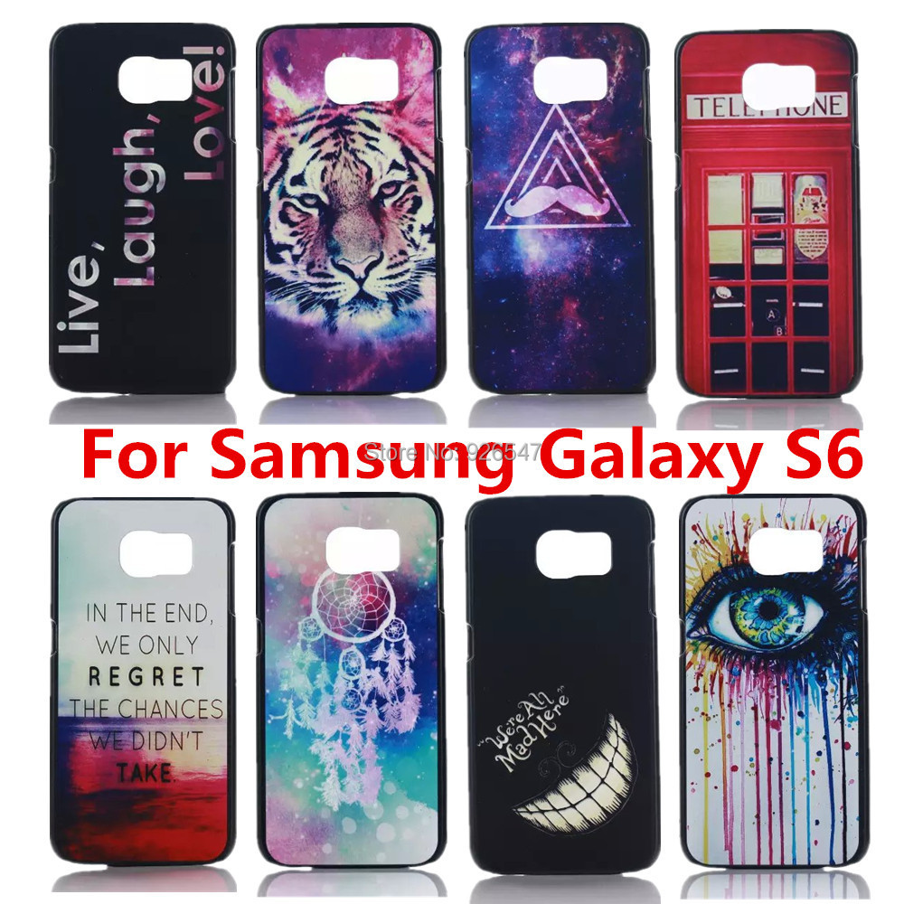 Cartoon 2016 Best Selling Foreign Trade Hard PC Phone Case Printing Embossed Cover Samsung Galaxy S6 G9200 G920i G920A - Shenzhen CY group co., LTD store