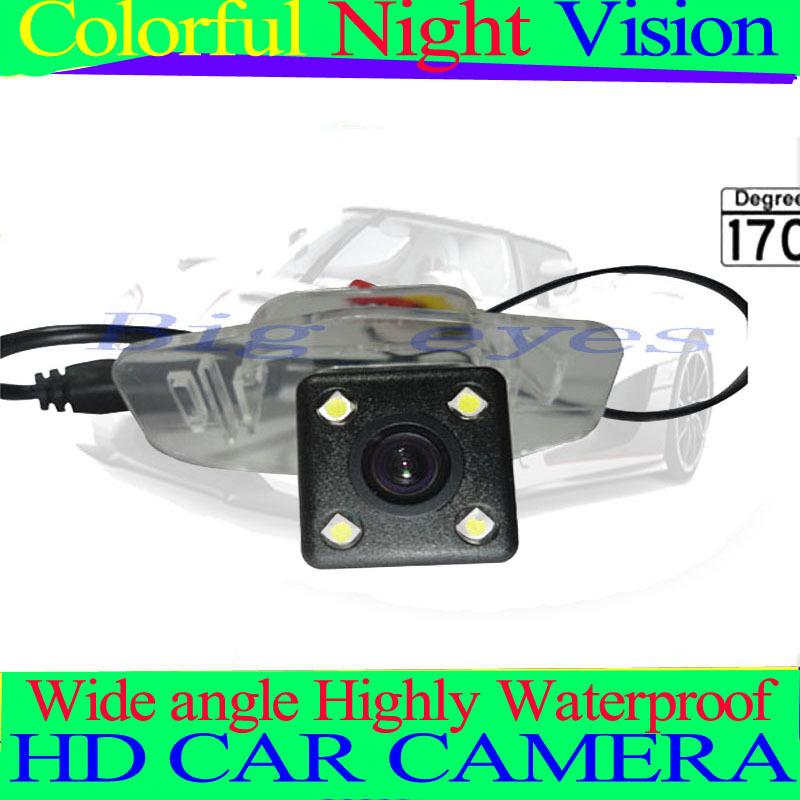 CCD Car Rear View Reverse back up parking Camera for Honda new Civic / Accord/ Spirior / civic 09/ CRIDERr, free shipping(China (Mainland))