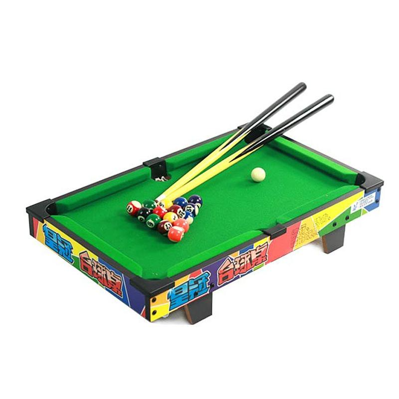 Wood Snooker Billiard Table 52*33*8 cm Boxed Mini Pool Ball Snooker Desktop Table Game(China (Mainland))