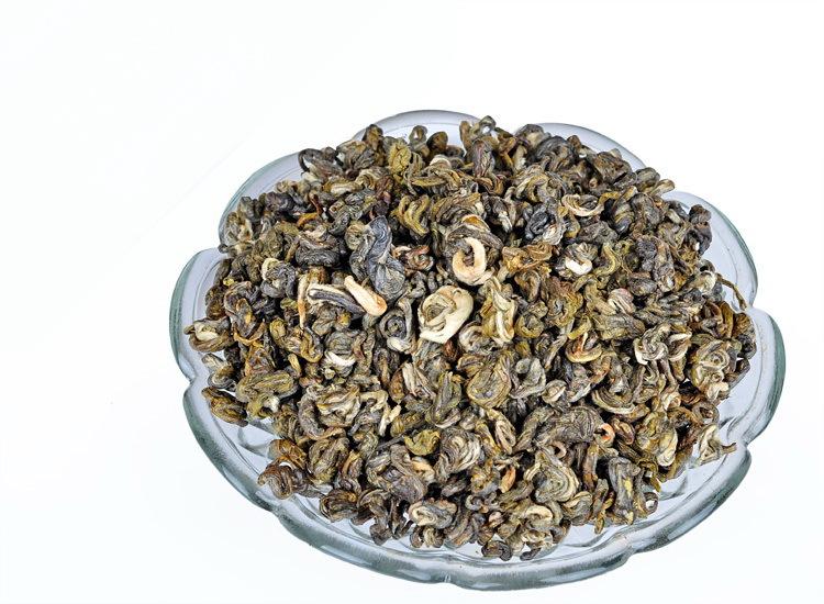 2 2lb 1000g BiLuoChun Tea drak green Snail Tea Pi LoChun Tender Tea Bud Free Shipping