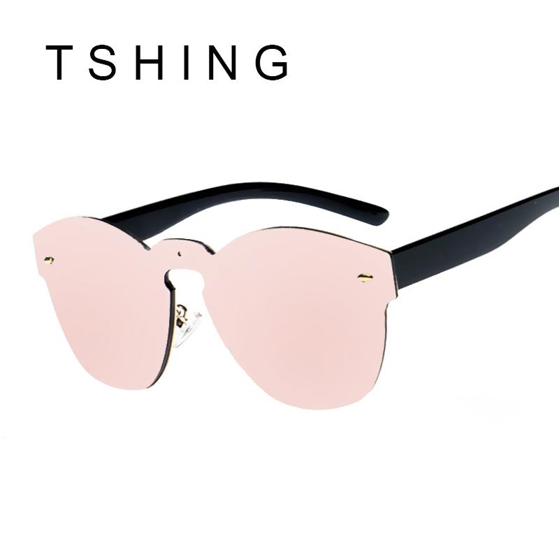 TSHING 2016 Rimless Cat Eye Sunglasses New Fashion Women ...