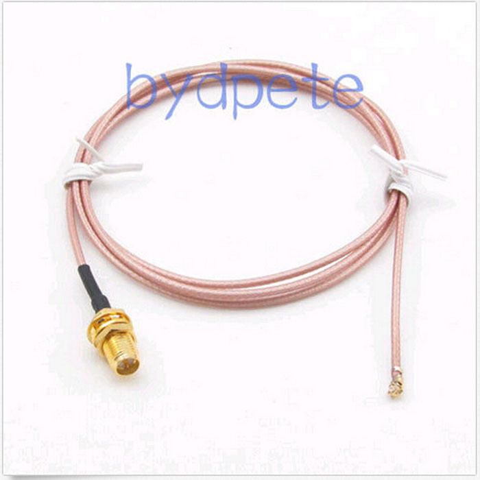 6in 6 IPX IPEX I-PEX U.FL to RP SMA female jack RF RG178 pigtail jumper cable for WIFI Card wireless router 15cm<br><br>Aliexpress