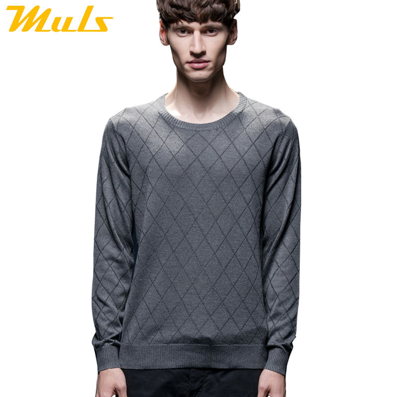 Special offer men sweater pullover High quality polo pullover cheap price famous brand ea7 men's clothing gray pink blue 1601001(China (Mainland))