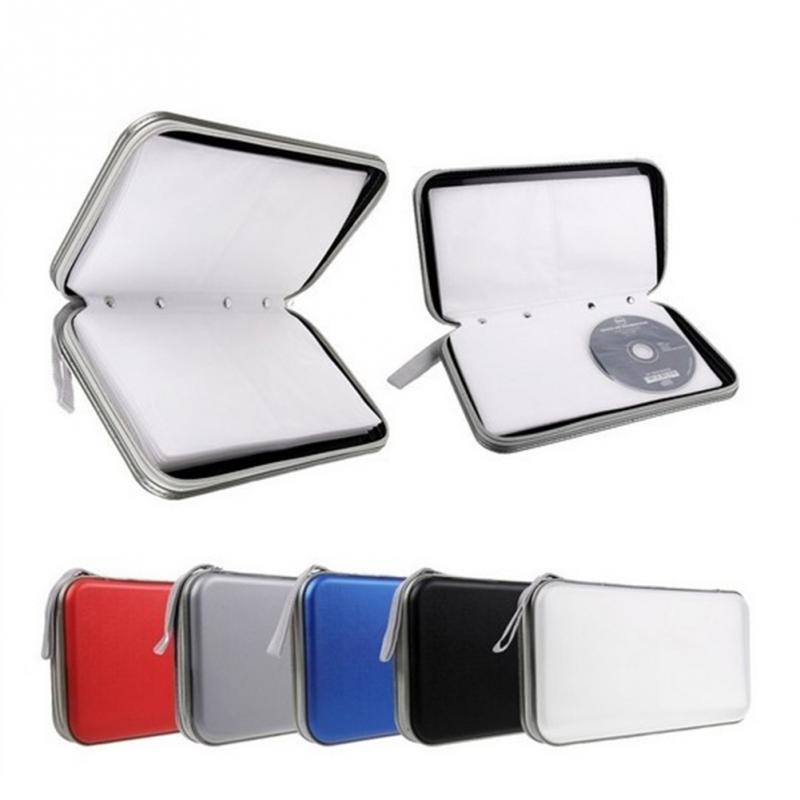 Practical high-grade CD bag car CD package CD holder DVD disc package bag many colors to choose(China (Mainland))