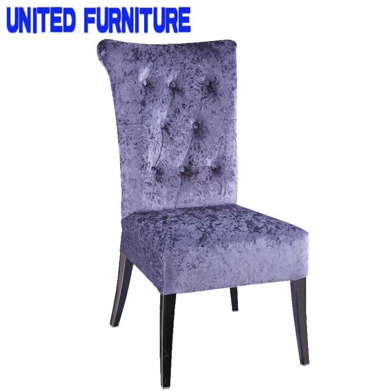 High Grade Fabric Dining Chair With Durable Hardware High quality and Low Wholesale Price(China (Mainland))