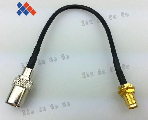 10PCS TV male plug to SMA Female JACK pigtail cable antenna extension assembly 15cm cable Free shipping(China (Mainland))