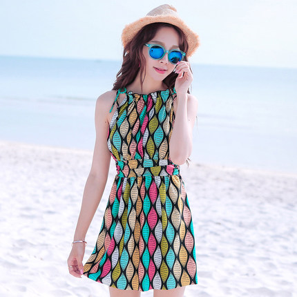 2016 new hot spring swimsuit female steel prop gather chest was thin piece swimsuit skirt type a conservative cover the bellyОдежда и ак�е��уары<br><br><br>Aliexpress