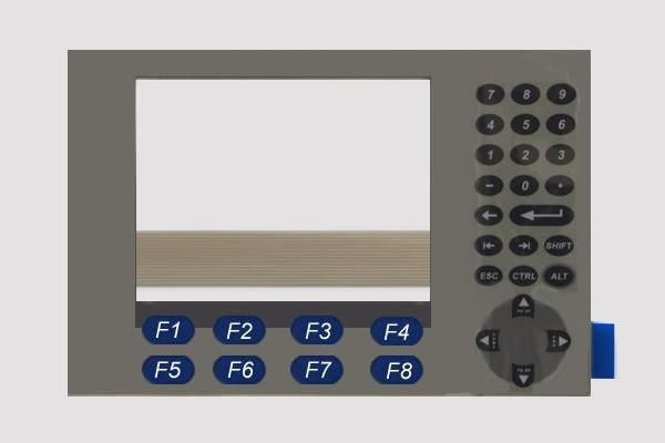2711P-K4 2711P-K4M3A Allen-Bradley PanelView Plus 400  Membrane switch, membrane film, keypad for HMI repair, fast shipping<br>