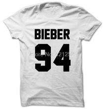 Justin Bieber Shirt BIEBER 94 T-shirt Print Front Back side Unisex T1772 - devil meng store