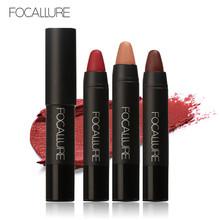 Pro Помада High Gloss Цвет Губ Lip Мелки Для Губ Оттенок 12 Цветов Дополнительно для Женщин Помады Губы карандаш Макияж м. Focallure(China (Mainland))
