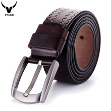 Buy Cinto Masculino 2017 Designer High Genuine Leather Pin Buckle Belt Men Luxury Brand Belts Men Business Belts W26 for $11.53 in AliExpress store