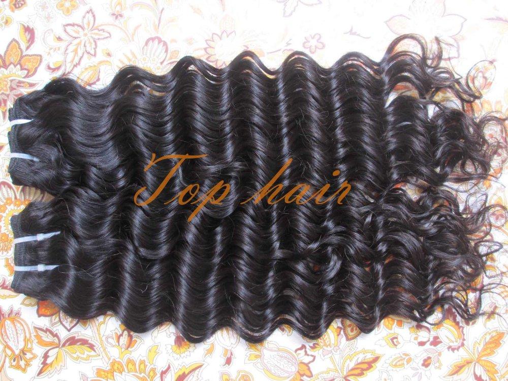 Virgin Brazilian Hair 12 inch-30 inch 1kg Deep Wave Weave Human Extensions DHL black best sale price - Betop Beauty Store store