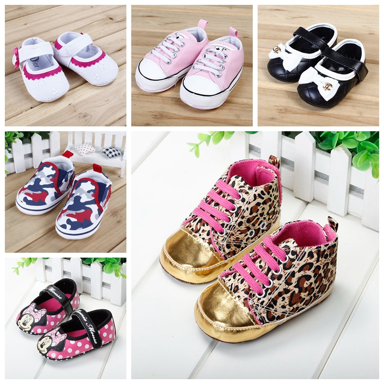 Hot Sale Fashion Baby Shoes Girls Cotton Soft Sole Skid-proof Cute Kids Toddler Shoes First Walkers Fit 0-12 Months(China (Mainland))