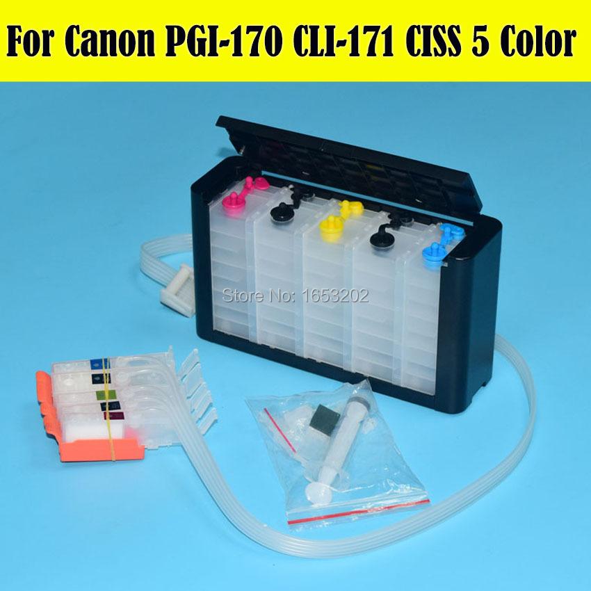 Canon 170 171 PGI-170 CLI-171 Ciss System 2