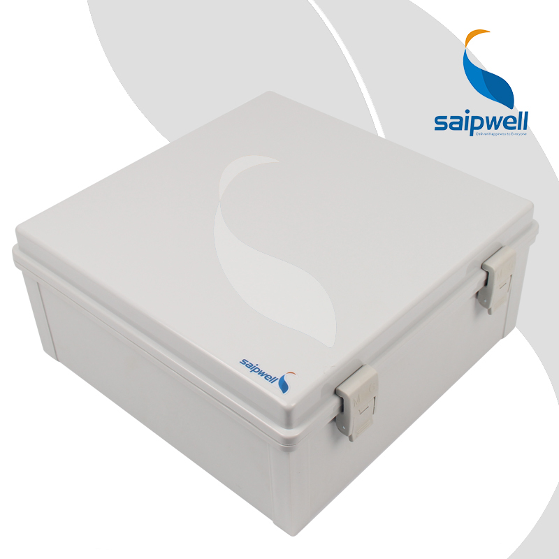 320*320*140mm ABS Waterproof Connection Box with Plastic Draw Latches / Hinge Type Enclosure SP-MG-323214(China (Mainland))