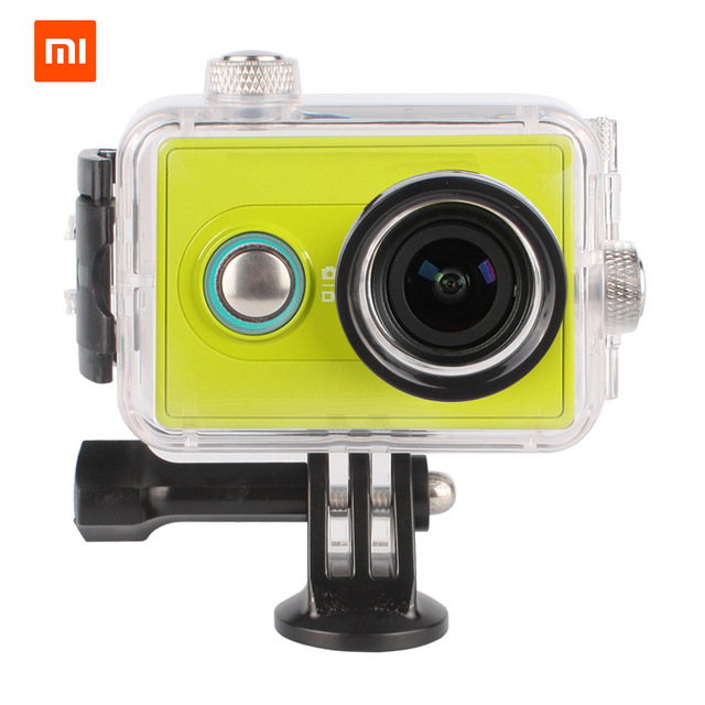 New 40M Waterproof Housing Case Box Diving Underwater Cover with Screw xiaomi yi Accessories for xiaomi action camera Case<br><br>Aliexpress