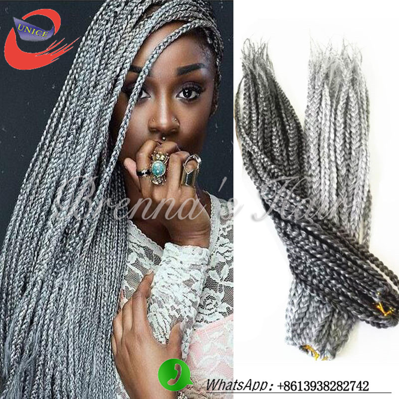 Crochet Box Braids Hair For Sale : Crochet Braid Hair!Box Braids Hair Havana Synthetic Kanekalon Braiding ...